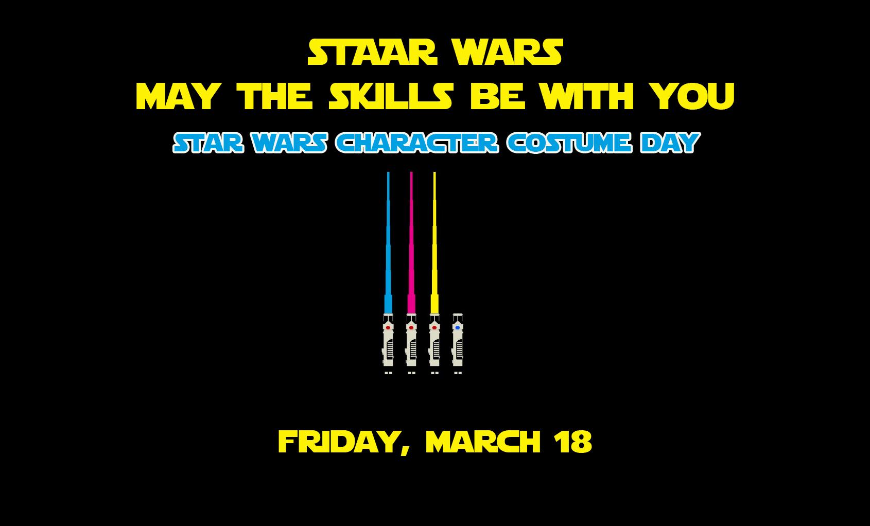 STAAR Tests Star Wars Day